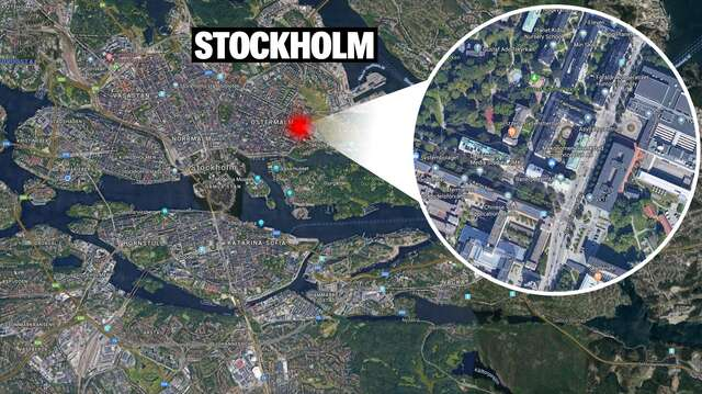 Woman Attacked and Raped by Three Men in Stockholm