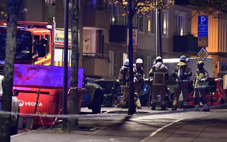 Bomb in Central Gothenburg – Massive policeOperation