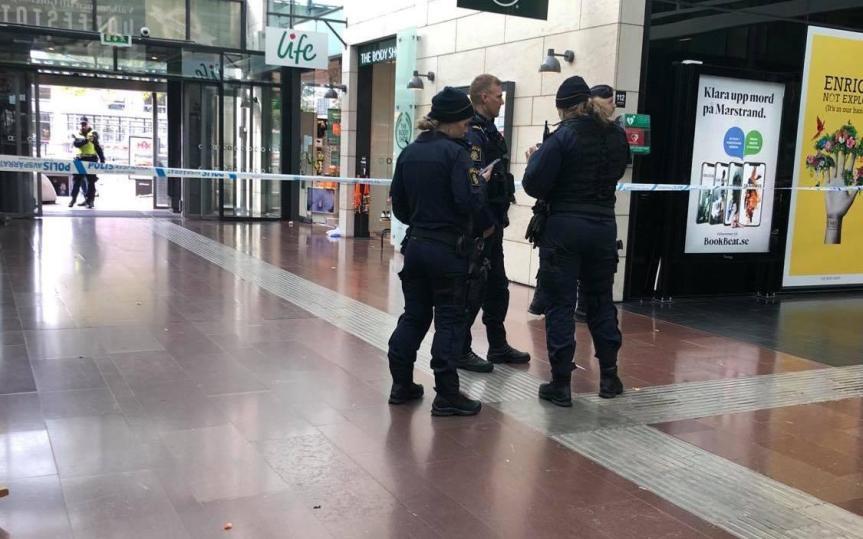 Knife Attack in CentralGothenburg