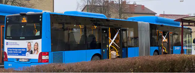 Shotgun Attack on Buss in Borås